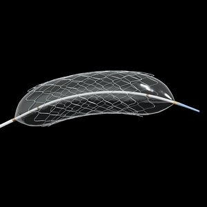 3D medical balloon-expandable stent