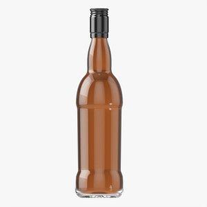Whiskey bottle 23 3D model