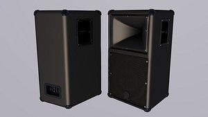 3D Professional Speaker Yamaha