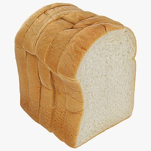 Sliced Bread Pack 3D model