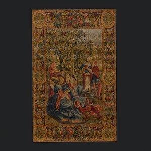 decor carpet rug model