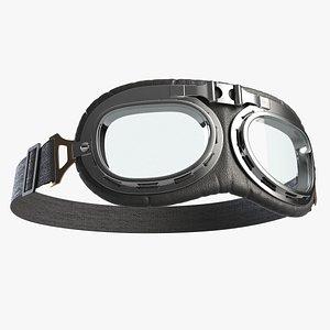 cafe racer glasses 3d model