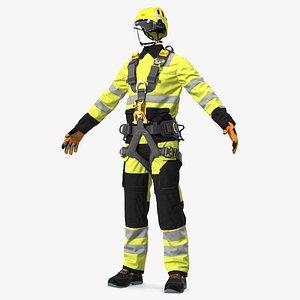 3D High Altitude Worker Full Equipment