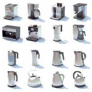 kitchen appliances Mega collection 3D model