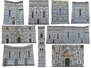 Florence Cathedral Scan Pack model