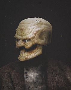 3D monster s head model