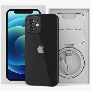 iphone 12 mini unboxed 3D model