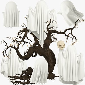 Funny Ghosts Collection V9 model