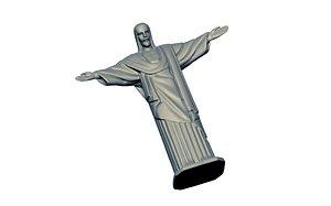 Rio Statue Christ redeemer Brazil 3D