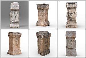 3D model stone historic