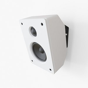 TEUFEL wall speaker 3D model