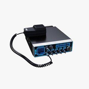 Stryker CB Radio 3D model
