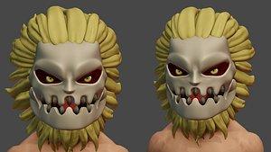 3D Jaw Titan - Attack on Titan