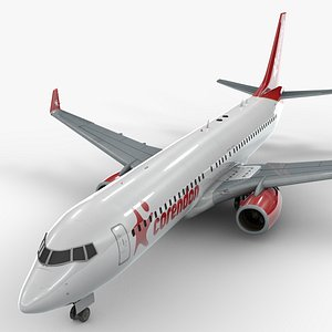 boeing 737-8 corendon airlines 3D model