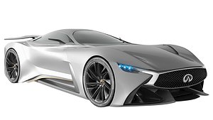 3D model Infiniti Vision GT Concept