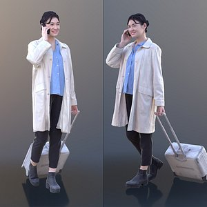 3D young doctor doc model
