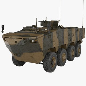 K808 Armored Personnel Carrier 3D
