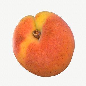 07 hy apricot fruit 3D model