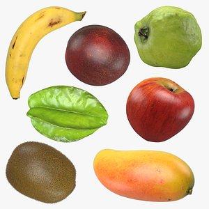 3D Whole Fruit Collection 2