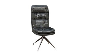 3D model Chair Dismantled Leather 3