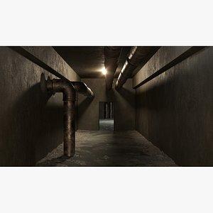 Basement tunnel 04 model