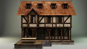 3D Medievla house