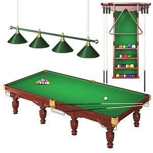 3D model classic room table