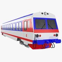 Passenger diesel train