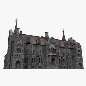 Gothic House 04 model