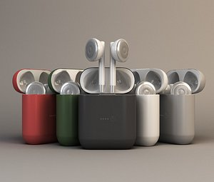Wireless headphones model