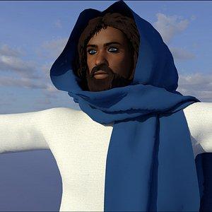 jesus christ black 3D