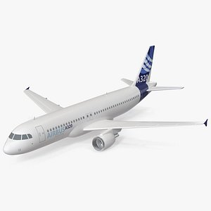 Airbus A320 Scale Model 3D model