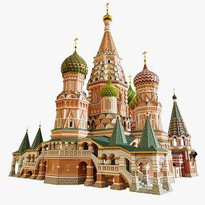 Saint Basil Church 3D model