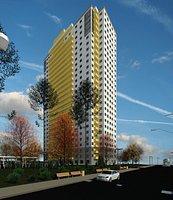 Residential Building Sonne 3D model
