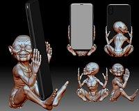 Phone holder stand 3D printable model