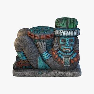 3D model Prehispanic Chacmool