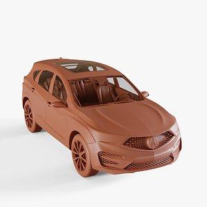 acura rdx prototype 3D model