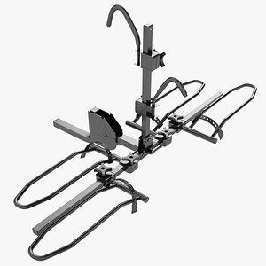 3D model 2 Bike Platform Style Hitch Bike 01