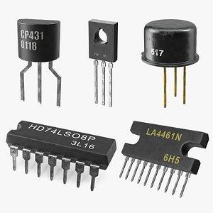 transistors 3 3D model