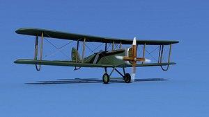 Airco DH-4 V04 Mail Plane model