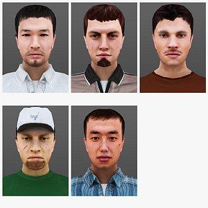 MAN 16 TO 20 3D model