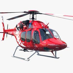 Bell 429 Air Zermatt 3D model