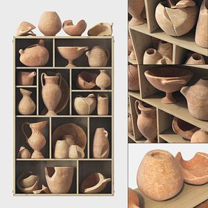 3D dishes clay