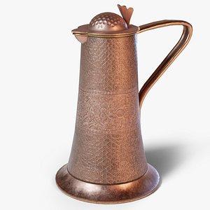 copper jug 3D model