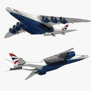 HyperCargo British Airways 3D model