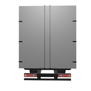 van truck transportation 3D model