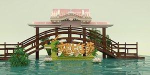 3D model Dragon Boat