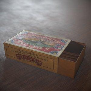 glory vintage 3D model