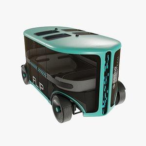 3D Autonomus Car model