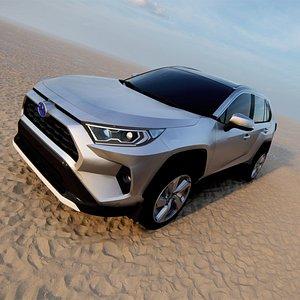 2021 Toyota RAV4 Hybrid 3D model